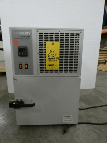 Test Equity Half Cube Temperature Chamber Model 105A (-40C - 130C) WORKING