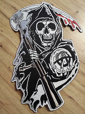 Sons Of Anarchy Official Licensed Rocker & Jacket Patch Sets Biker Gang FX