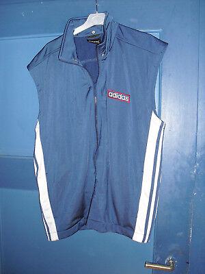 Adidas Weste Gr L blau, wenig getragen