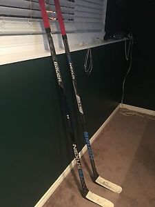 3 bauer 1n sticks , $250 for normal and $300 for pro stock