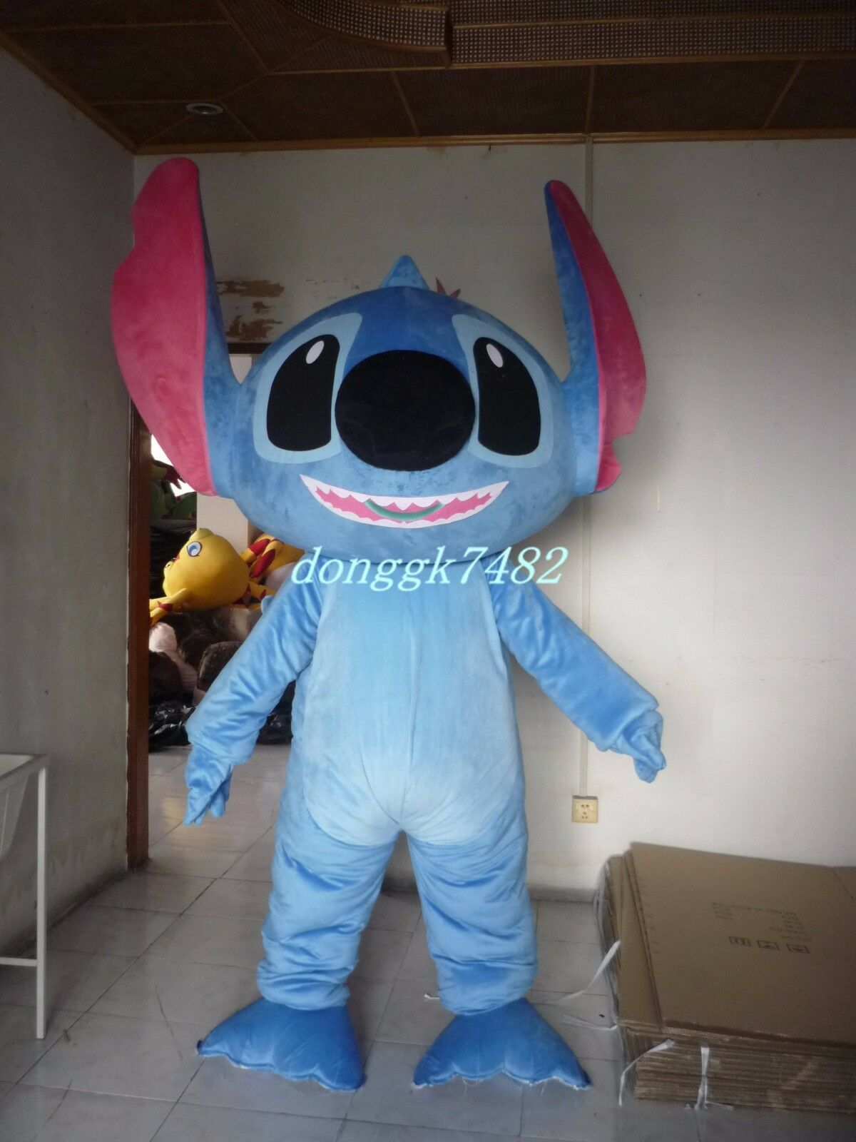 Lilo Stitch Mascot Costume Cartoon Party Character Fancy Dress Adults Outfits Ebay