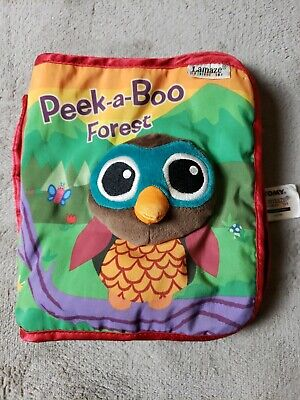 Lamaze Peek-A-Boo Forest, Fun Interactive Baby Book with Inspiring Rhymes and St