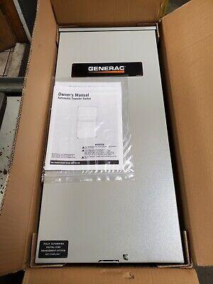 New Generac 200 Amp Automatic Transfer Switch 120240 Vac 240 Vac 0k0166b