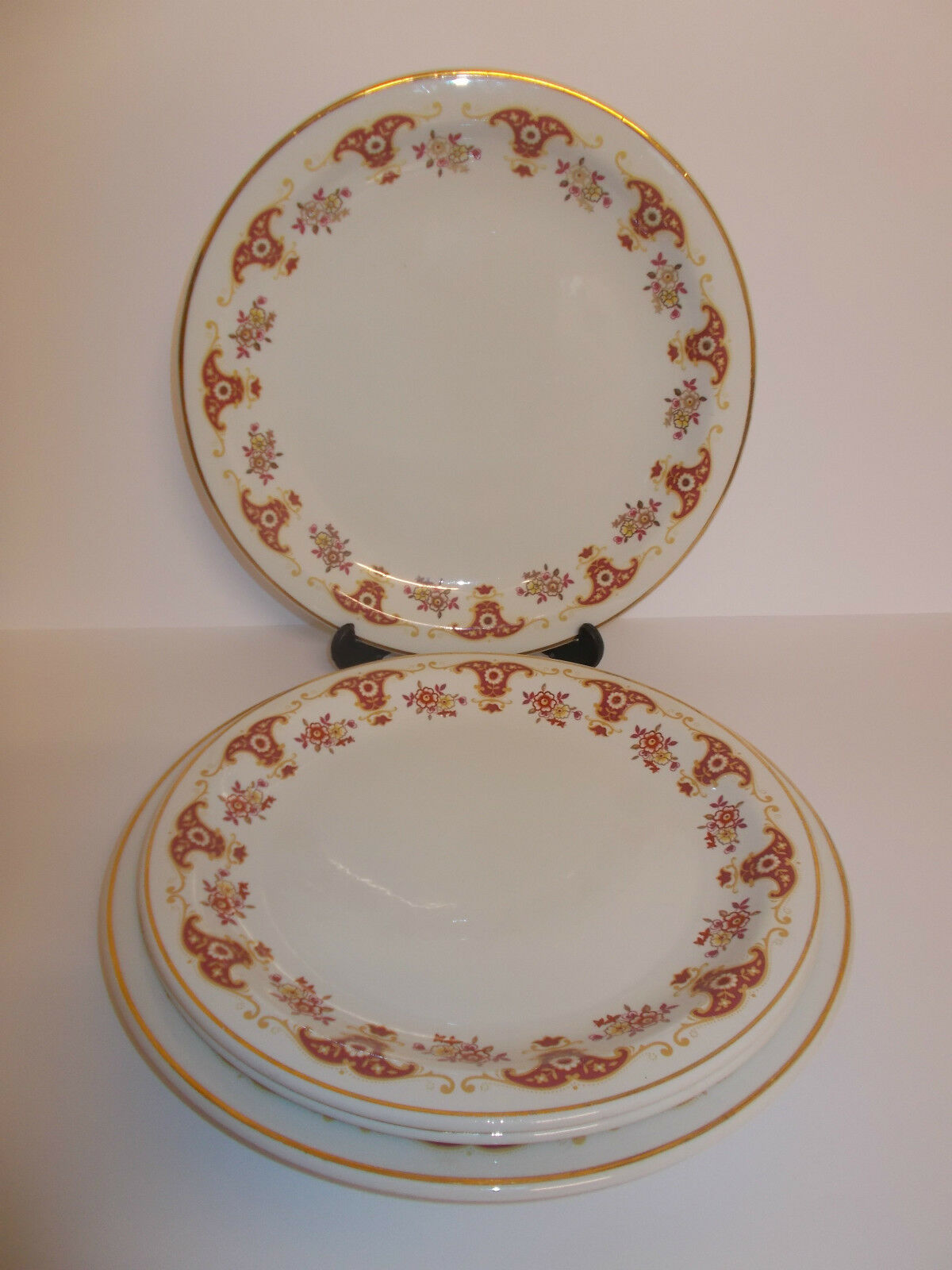 2 x Lee u0026 Street Manchester Super Vitfified Dinner Plates and 2 x Salad - Lovely & Tableware Serving u0026 Linen  Cookware Dining u0026 Bar  Home ...