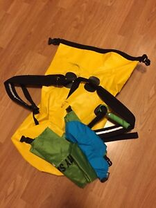 Dry bags for kayakers & canoe-ers