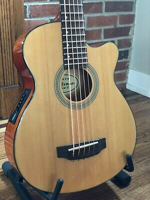 5 String Acoustic Electric Bass Guitar With Active Pickup (Active Electric Bass Guitar)