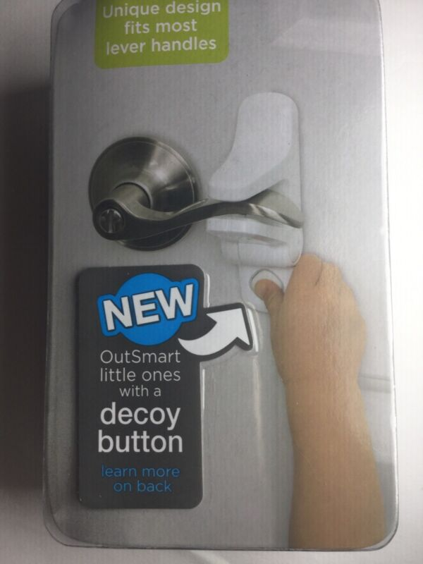 Safety 1st Brand New OutSmart Child Proof White Door Lever Lock