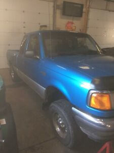 95 Ford Ranger 2 Wheel Drive. parts only