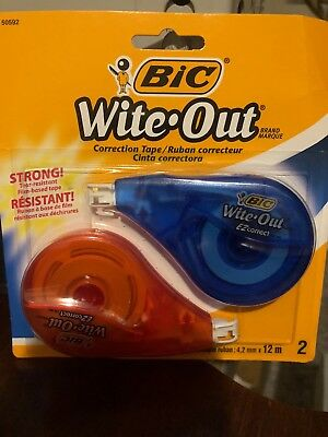 Bic Wite Out 2-pack