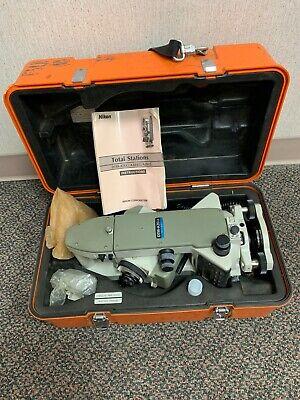 Nikon Top Gun Dtm-a20 Lg Total Station Surveying Equipment W Case Manual Cable