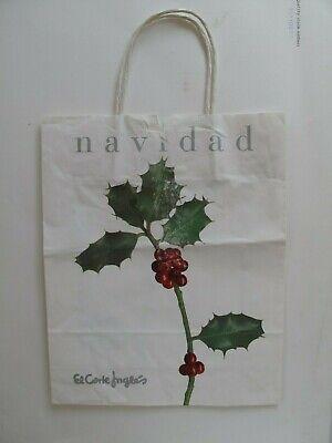 El Corte Inglés - paper carrier bag, Navidad