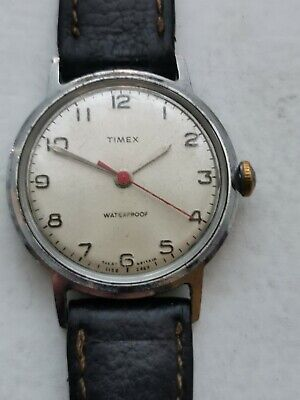 Vintage Mens Timex Sprite Watch 1969 Working