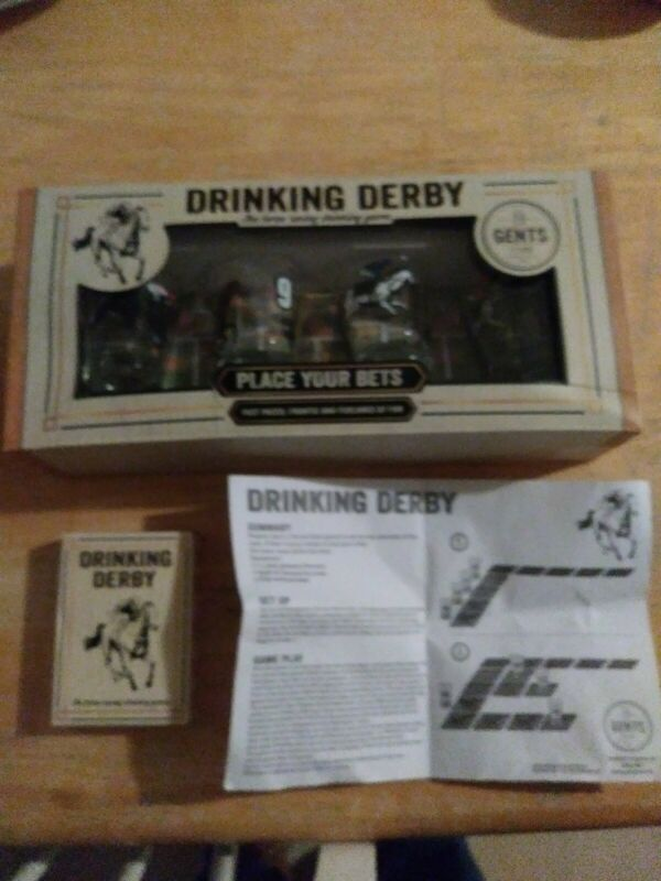 Paladone Drinking Derby Shots Game