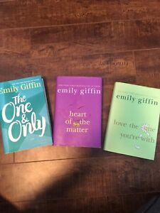 Emily Giffin hardcover books