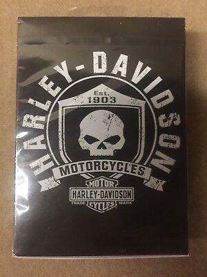 Harley Davidson Motorcycles Playing Cards