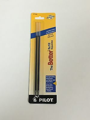 6 Each Pilot Brfl2 The Better Refill Medium Blue 2pk Pil 77222