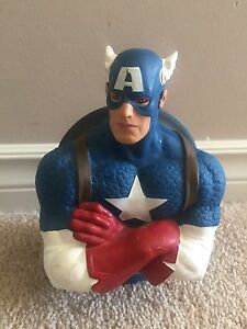 Captain America piggy bank