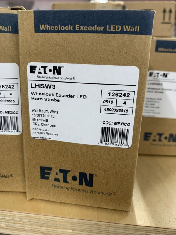 Wheelock Exceeder LED Horn Strobe