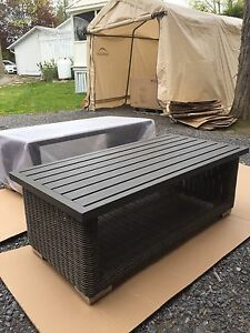 Outdoor/patio coffee table! and matching rocker recliner!!!