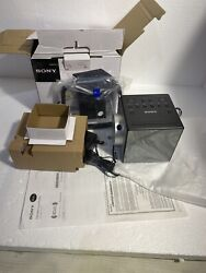 SONY ICF-C1PJ AM/FM ALARM CLOCK RADIO with Nature Sounds/ with MANUAL 70 SOLD!!