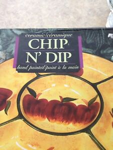 NEW Chip and Dip Dish