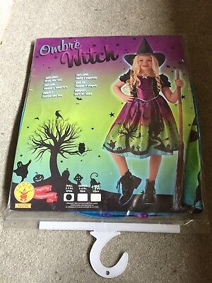 Rubies Ombre Halloween Witch Costume for Children, S - Scary Witch Costumes For Kids