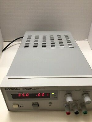 Hp Agilent E3610a Dc Power Supply 8v 3a15v 2a Tested New Cosmetic Holiday Deal