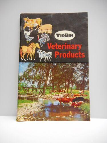 "Vintage - ""VIOBIN""  Veterinary Products Catalogue - St. Thomas, Ontario - 1965"