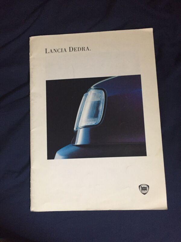 1990s Lancia Dedra large Prestige Color Brochure Prospekt