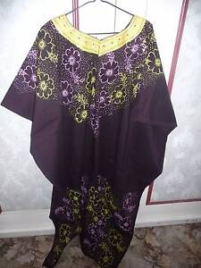 BEAUTIFUL WOMAN'S DRESS FROM UGANDA, AFRICA - 1 SIZE WOULD FIT AL Kahibah Lake Macquarie Area Preview
