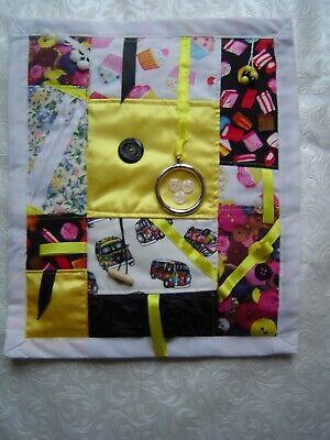 Weighted fidget Dementia/Anxiety/Sensory activity quilt/blanket