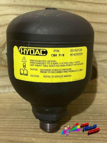 Hydac 03153125 Hydraulic Accumulator CNH 87425225, 56 Bar