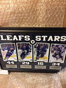 Leafs Stars-Toronto Maple Leafs Young Guns Hockey Frame