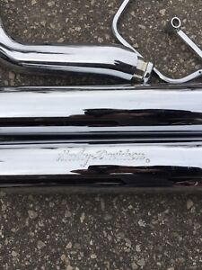 Harley exhaust pipes