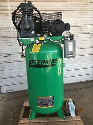Speedaire 35wc51 7.50 Hp 1020 Rpm 208-230v 460v 80 Gal Electric Air Compressor