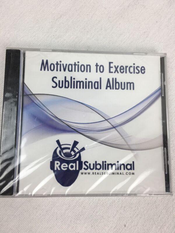 New Motivation to Exercise Subliminal Album CD RealSubliminal