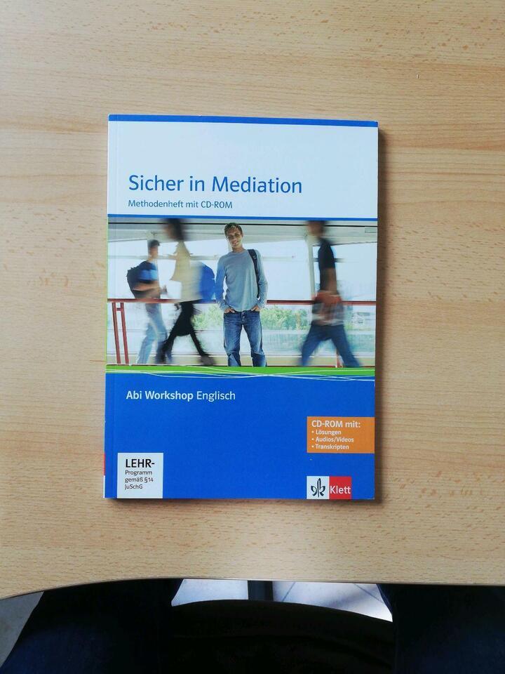 Sicher in Mediation, Abi Workshop Englisch, mit CD in Bayern - Würzburg