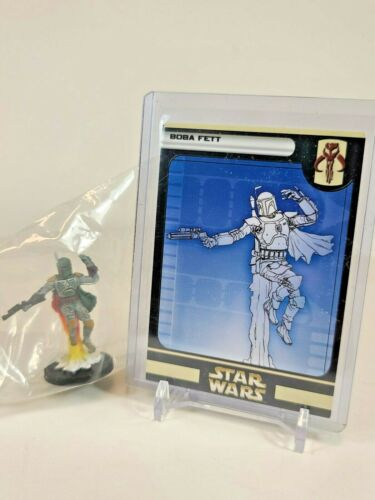 Star Wars Mini Rebel Storm Bobba Fett #42 Very Rare New