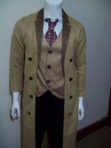 DR WHO  THE 10th DOCTOR   DAVID TENNANT  FANCY DRESS COSTUME   EXTRA  LARGE