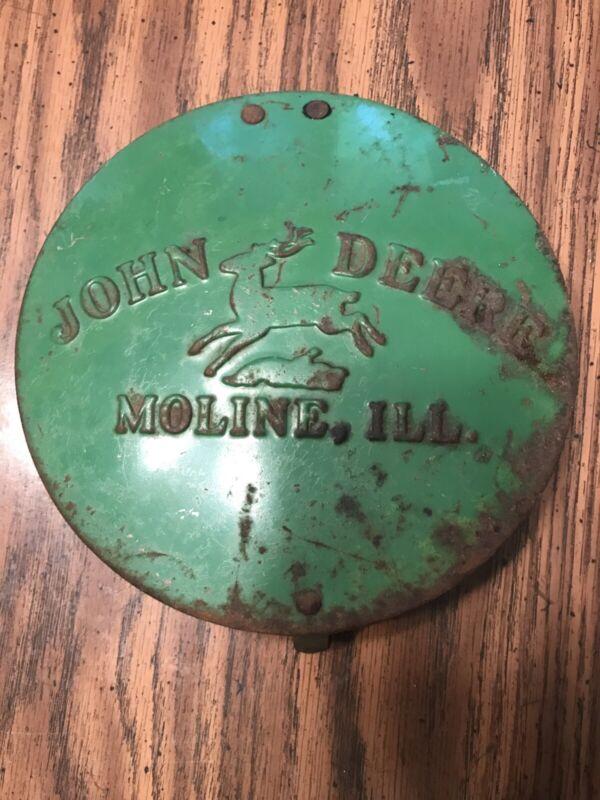 Vintage John Deere Moline, Ill. Planter Lid