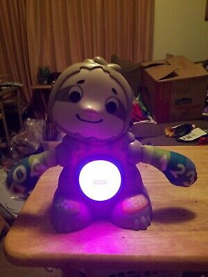Fisher Price Linkimals Smooth Moves Sloth Lights, Music and Games ABC 123