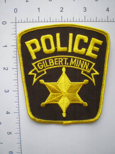MN Minnesota Gilbert Police patch