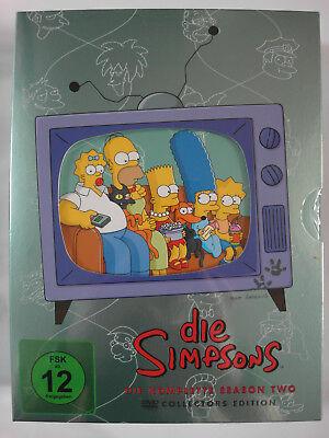 Die Simpsons - Komplette Season 2 - Bart, Homer, Musterschüler, Horror frei Haus