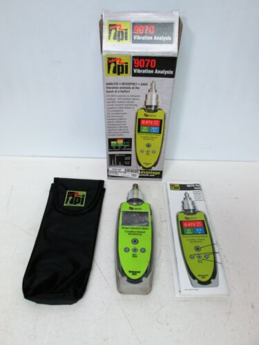 TEST PRODUCTS INTL. TPI 9070 Vibration Meter - Used Condition - Tested