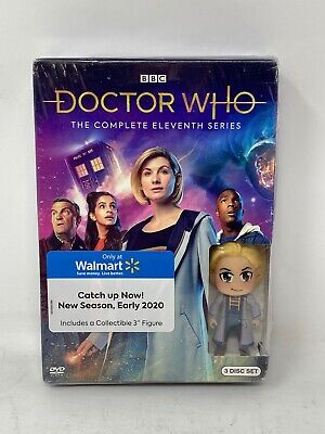Doctor Who - The Eleventh Series with Funko Minifigure **Case Damage**