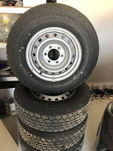 5 new Bridgestone Dueler tyres suit Dmax 245 x 70 R16
