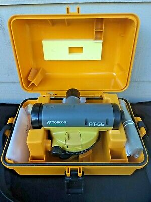 Topcon At-g6 24x Automatic Level W Case Used Once