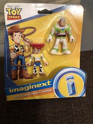 Imaginext Toy Story 4 Buzz Lightyear & Jessie 2-Figure Set NEW DISNEY