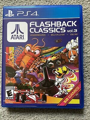 ATARI FLASHBACK CLASSICS VOLUME 3 ps4 RARE