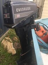 8hp Evinrude Outboard (Motor Only) West Wallsend Lake Macquarie Area Preview